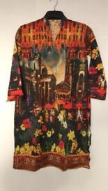 Ladies Kurta In Medium Brand New Shirt Dress