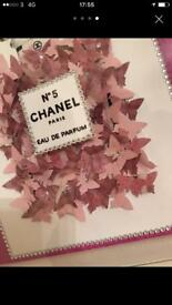 Chanel picture frame