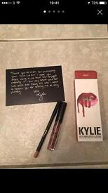 Brand New Kylie Lip Kit Matte Liquid Lip Stick and Lip Liner Multiple Shades Available