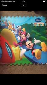 Giant Mickey Mouse foam puzzle