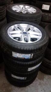 Brand New Winter tires on Ford Escape / Fusion / Focus 5x108 / Fiesta 4x108 alloy rims / TPMS