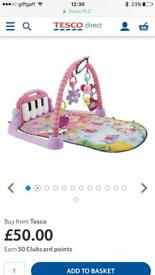 Baby Fisher Price Kick and Play Mat Piano Baby Gym Pink