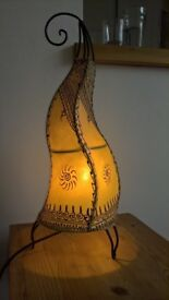 beautiful biggish morocan lamp