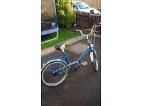 cinzia 1979 fold up bike