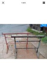 WANTED Builders Trestles