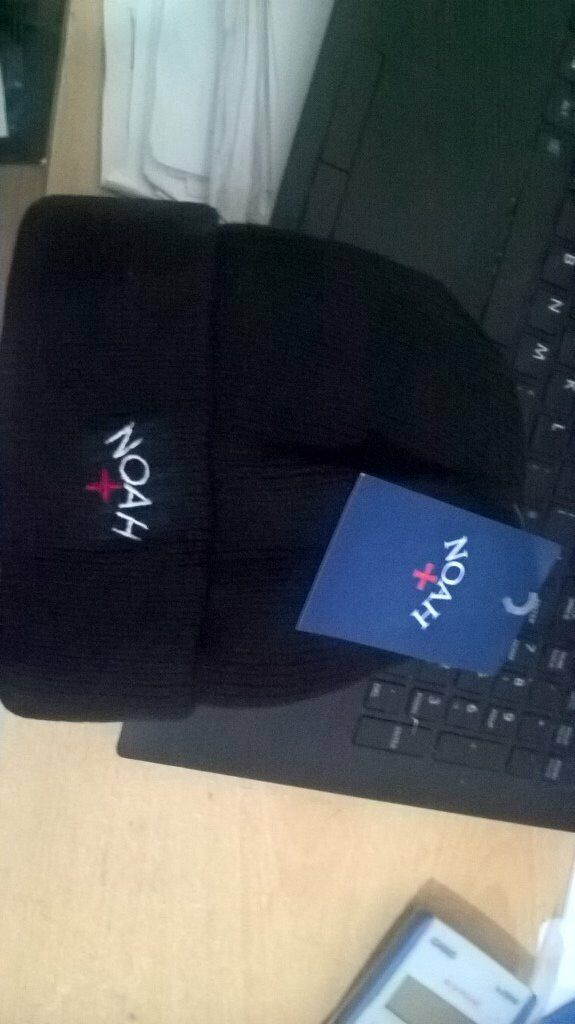 0f5873dc6a97c New Noah NYC New York City Black White Red Beanie Hat Cap Supreme Off Nike  Stussy A cold wall adidas