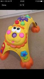 Activity table for babies and toddlers,hours of fun