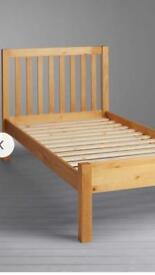 John Lewis Wooden Single Bed Frame