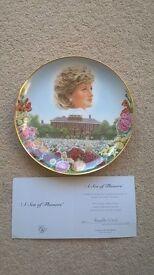 Princess Diana decorative plate - Compton and Woodhouse