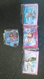 Various frozen purses