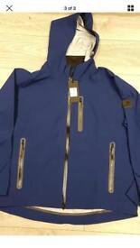 "Karrimor 100 jacket hi rise sn64 terminal blue xxlarge NWT 25"" p2p"