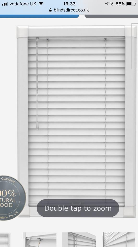 Perfect Fit Wooden Venetian Blinds For Patio Doors In Aboyne