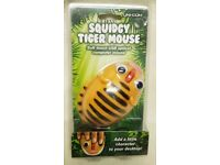 Squidgy Tiger Mouse (Novelty Mouse) USB Optical Mouse