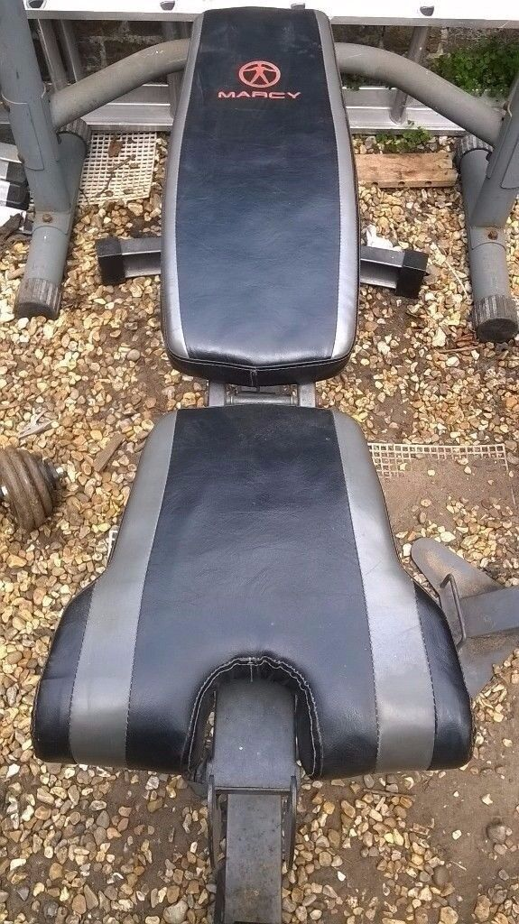 MARCY weight bench and squat rack