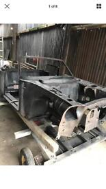 PEUGEOT 304 CABRIOLET BODYSHELL CHASSIS