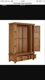 New 3 door 2 drawer wardrobe