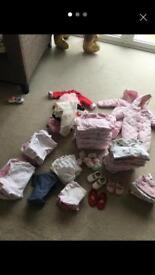 Baby girls bundle 100+ from First Size