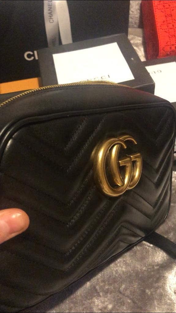 c4bed972229f Inspired Gucci camera marmont £180 real leather comes with box and dust bag