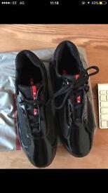 Black prada shoes