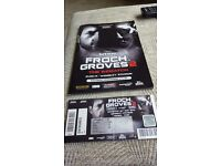 Carl Froch vs George Groves Wembley programme and ticket