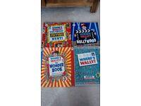 Where's Wally Books x4