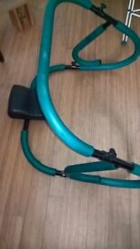 exercise sit up frame with head rest. bargain £10
