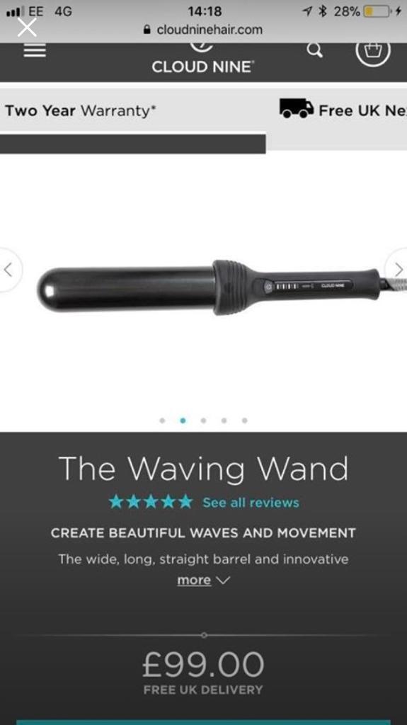 Cloud nine the waving wand