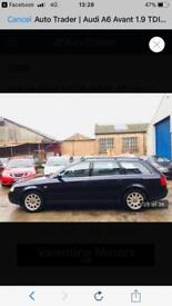 Audi A6 1.9 TDI Estate, Limited Edition Blue inside and out