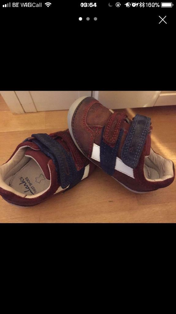 Baby boy first shoes cruisers 3G Clarks