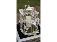 Decorated Ornamental Birdcages - form that wedding or special occasion