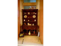Miniature display welsh dresser