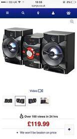 JVC MX-DN550 Megasound Hi-Fi System - Black