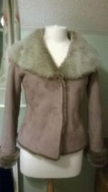 Joe Browns short winter jacket size 8