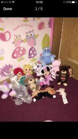 Small teddy bundle