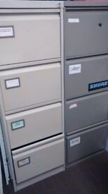 Two filing cabinets, can be sold individually.