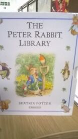 THE PETER RABBIT LIBRARY BY BEATRIX POTTER BOOKS squirrel nutkin benjamin bunny two bad mice & more