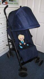 dark blue, so universal colour pushchair by Cuggl