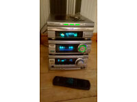 AIWA SEPERATES SYSTEM NO SPEAKERS