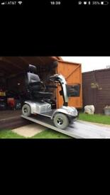 21 Stone Capacity Heavy Duty Invacare Orion Mobility Scooter Any Terrain AntiTheft Alarm Equipped