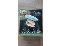 George Foreman fat reducing health grill