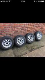 Classic ford steel wheels. 13inch