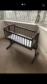 Baby Swinging Crib