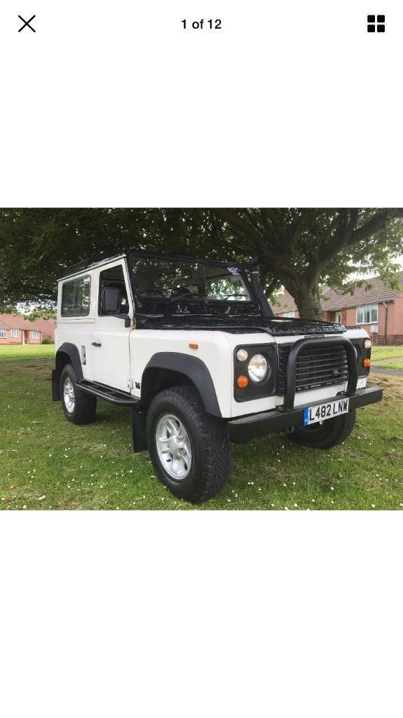 Landrover defender 90 county,only 73k,loads of extras!!