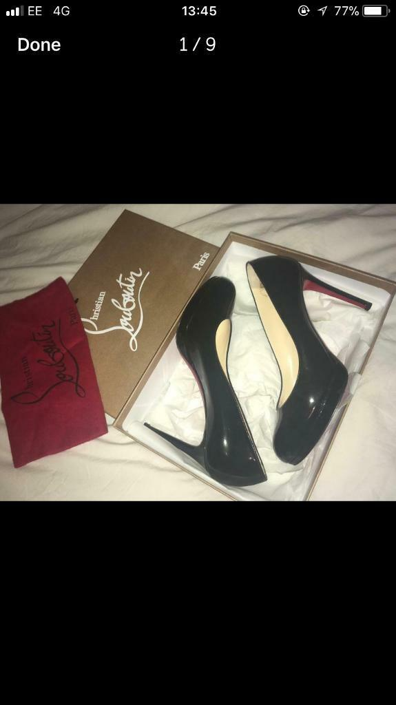 competitive price c5c8b 176e1 Louboutin heels size 5 | in Newmarket, Suffolk | Gumtree