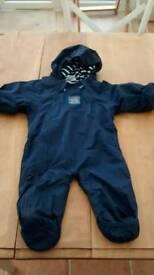 JoJo Maman Bebe Waterproof All-in-one size 3-6 months