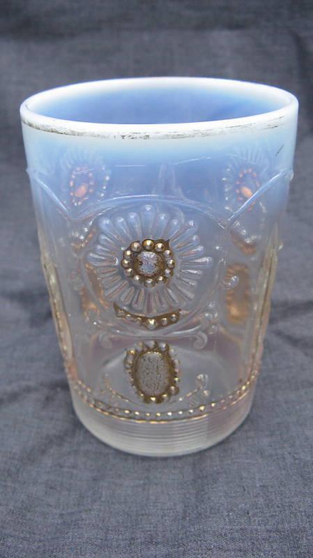 1904 Northwood Jewel & Flower Encore Opalescent Glass