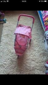 Baby annabell pushchair