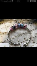 Love Links Bracelet and Beads