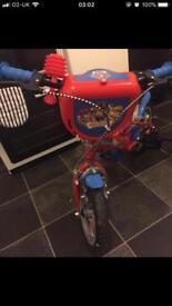 """12"""" Paw Patrol Bike & Helmet"""