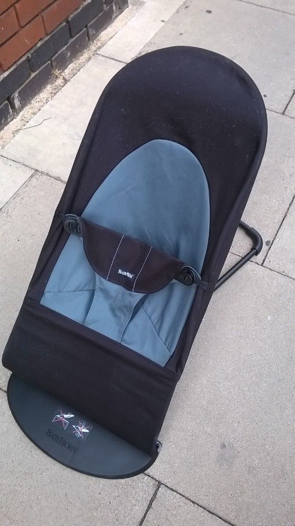 96149c80bfd Baby Bjorn Balance Soft bouncer (£132 new) excellent central London bargain